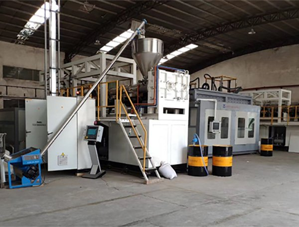 Extrusion and Thermoforming line for Double Sheet Pallets