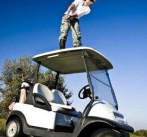 Golf Car Roof