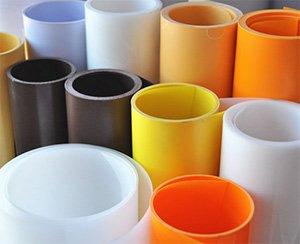 PS plastic roll