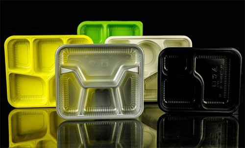 Plastic Thermoforming Packaging for Take away Food