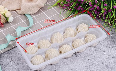 Dumpling and Steamed buns tray