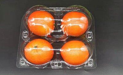 Four Pieces Orange tray