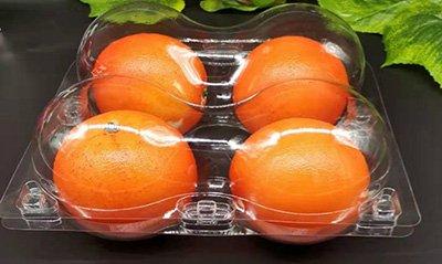 PET plastic fruit packaging