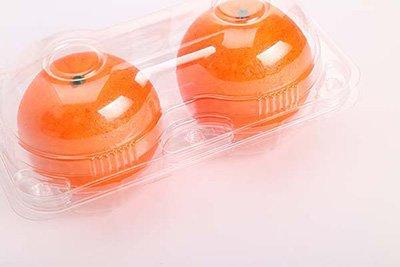 Plastic Orange tray