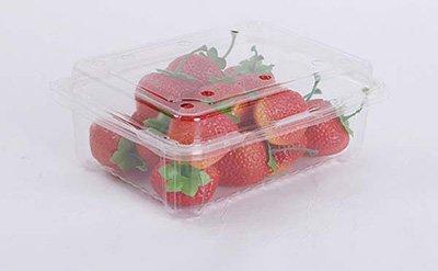 Plastic Strawberry box