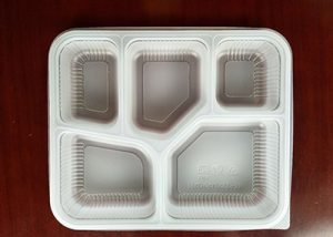 Take away packaging with lid