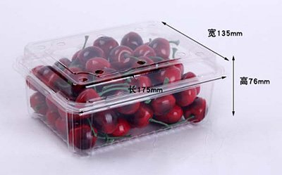 Thermoforming Cherry tray