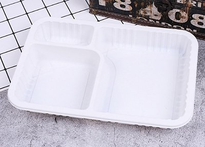 Three compartments food container