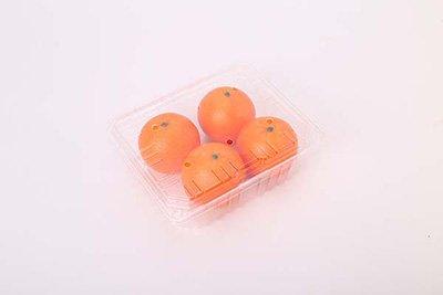 plastic orange container